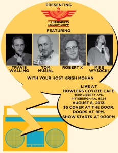 Noodlebowl Comedy Show-August 8