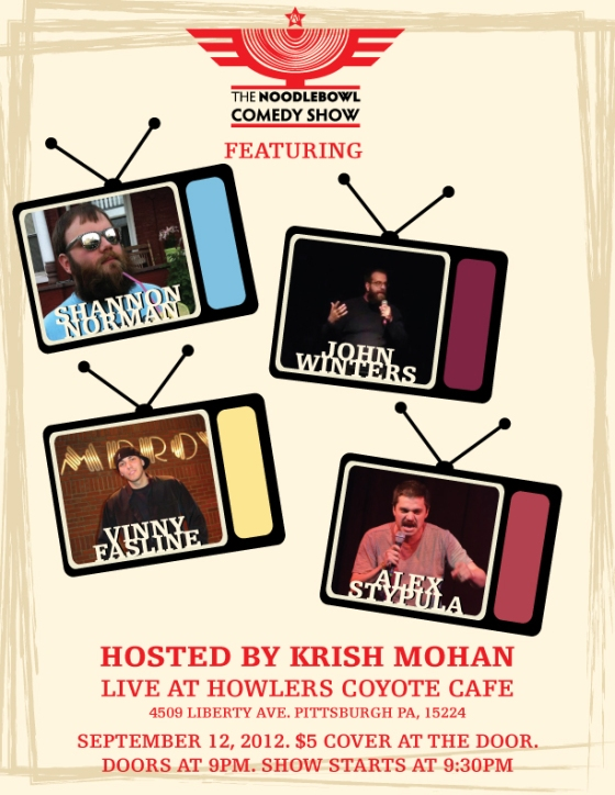 Noodlebowl Comedy Show-September 12