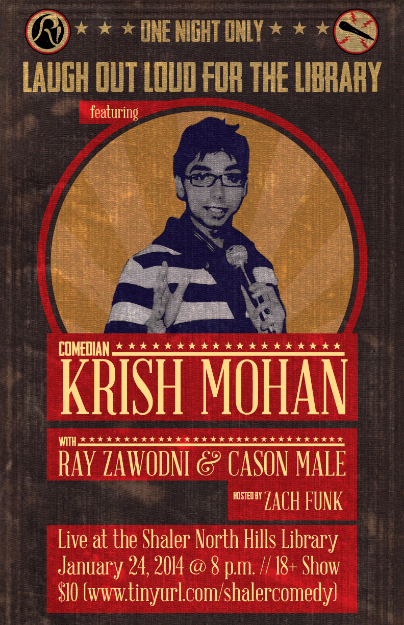 Krish Mohan-Live at the Shaler North Hills Library