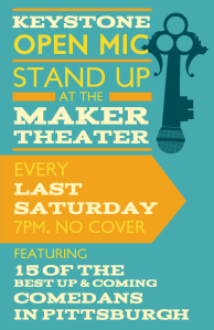 Keystone Comedy OPEN MIC