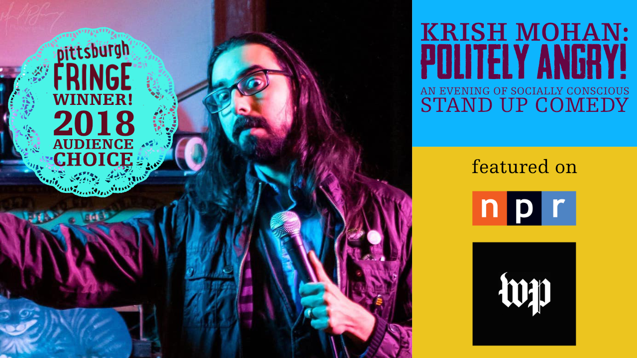 Politely Angry comes to Virginia! Blacksburg, Charlottesville & Norfolk, also Frederick!