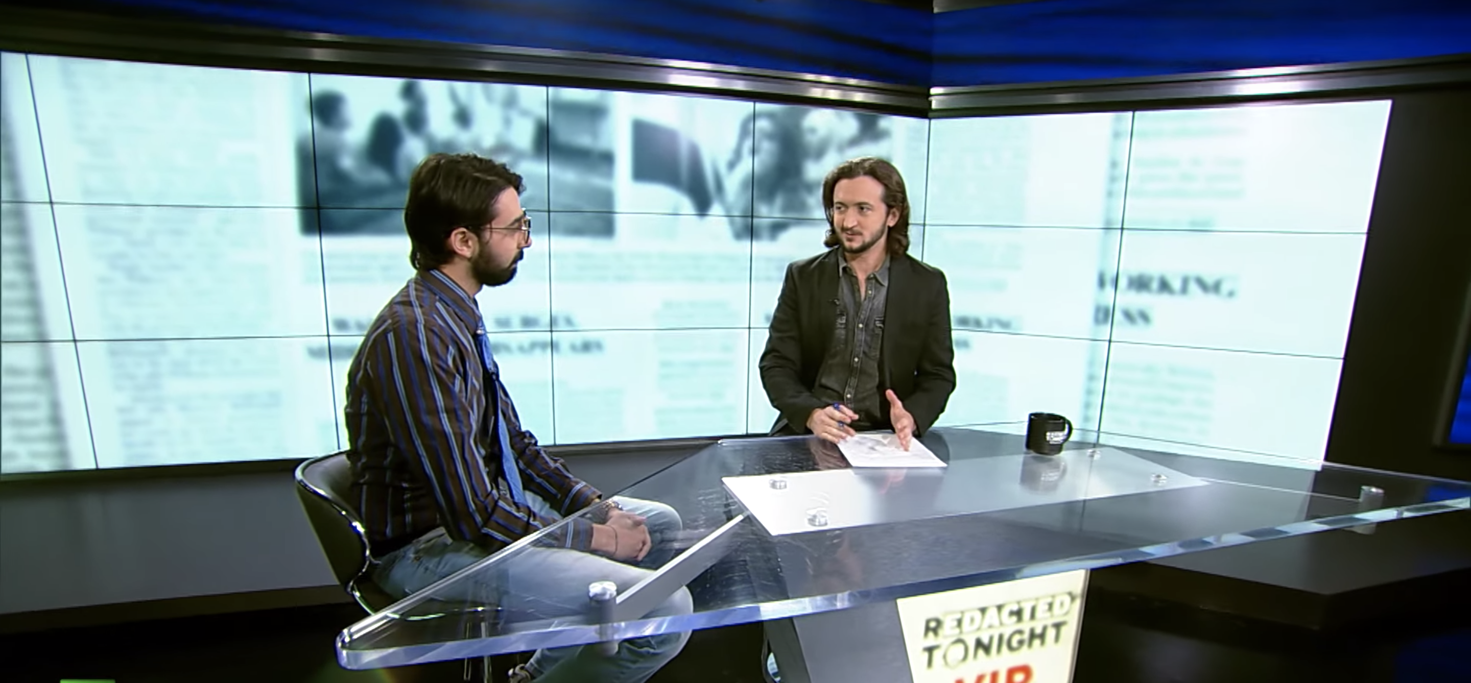 Guest on Redacted Tonight VIP with Lee Camp!