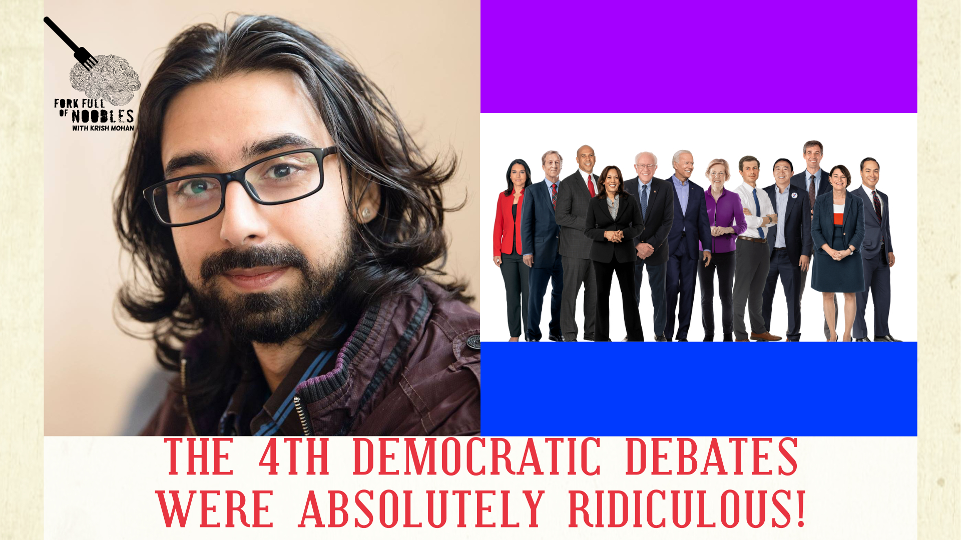 The Democratic Debates Were Ridiculous! [Live Stand Up Comedy]