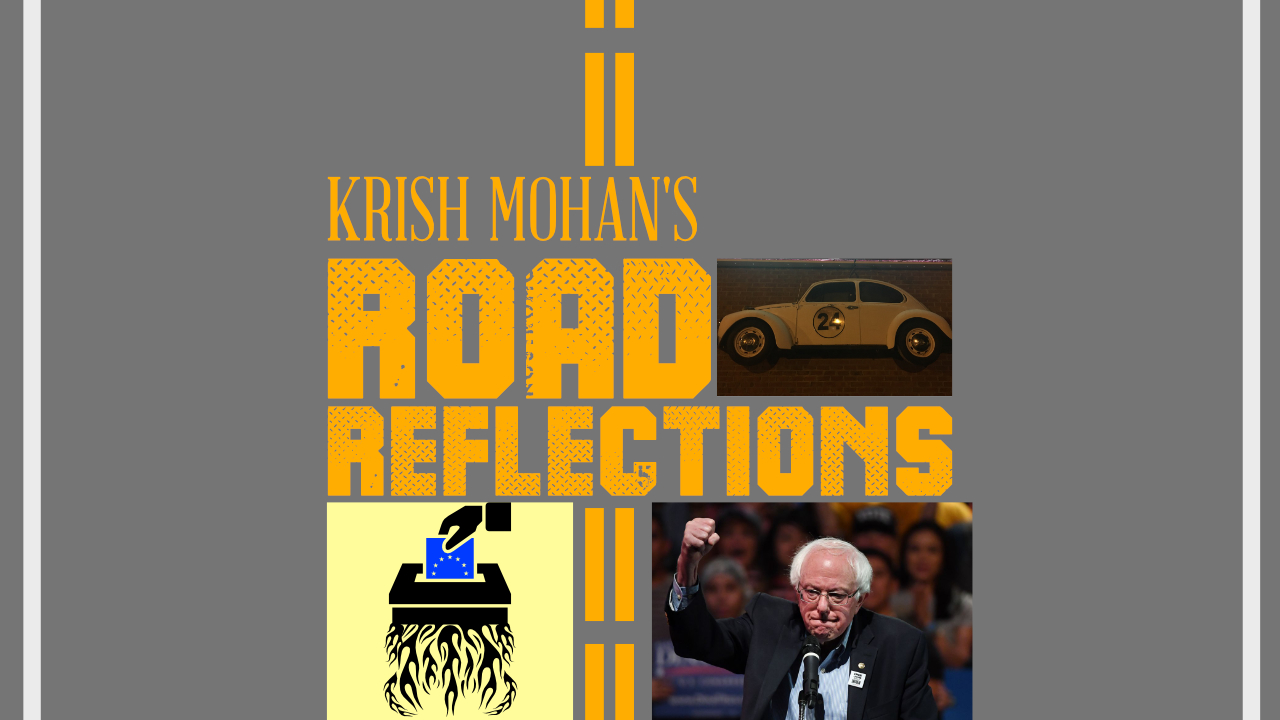 Road Reflections #60 A Bernie Centric Episode! Media Attacks, Democratic Socialism Vs. Social Democracy & Yang!
