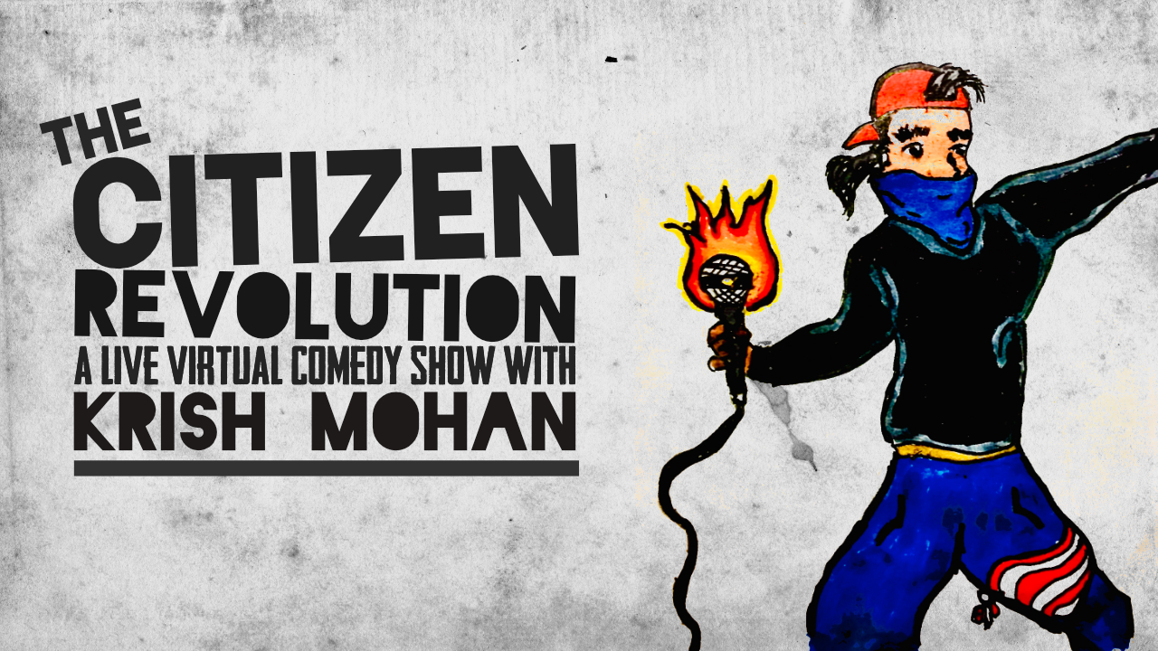 Announcement: Fork Full Of Noodles Will Now Be A Part Of The Citizen Revolution Comedy Shows!